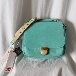 LACOSTE Crossbody Bag Purse Adjustable! NEW + Tags
